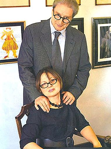 С женой Галиной актер вместе с 1980 года.
