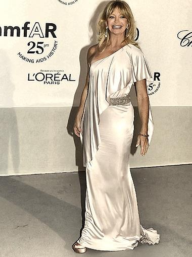 Голди Хоун в свои 65 лет выглядит просто потрясающе! Фото Splash/All Over Press.