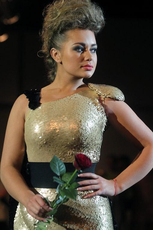 Яна Соломко - одна из самых блестящих участниц проекта.