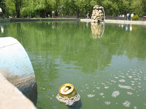 «Пруды» возле набережной не мешало бы почистить