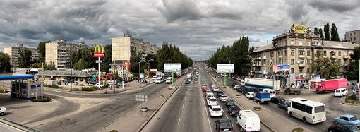 До конца этого года проспект «Правды» заметно преобразится. Фото Павла ДИНЦА и с сайта www.gorod.dp.ua.