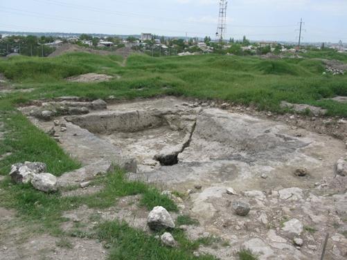 Гробница первого правителя Скифии Аргота.