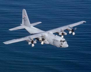 Lockheed C-130 Hercules – военно-транспортный самолет средней и большой дальности.
