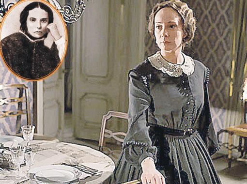 Чулпан Хаматова перевоплотилась в Марию Исаеву, первую жену писателя. Их роман возник, когда Достоевский был в ссылке в Сибири.