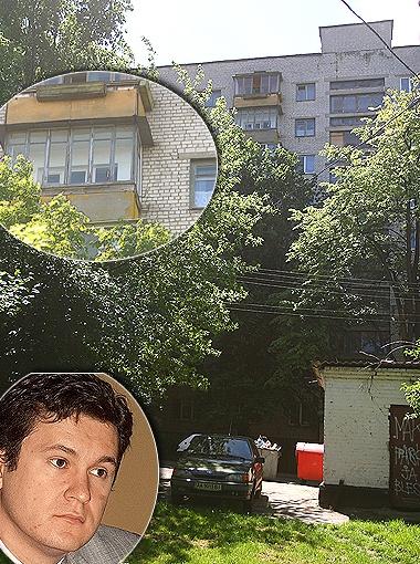 В квартире на Чоколовке, где прописан экс-зять Черновецкого, уже давно никто не появлялся. Фото Артема ПАСТУХА.
