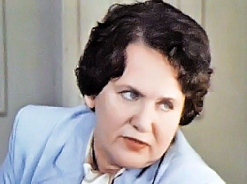 Галина Орлова, мама Еременко-мл., актриса Театра им. Янки Купалы в Минске.