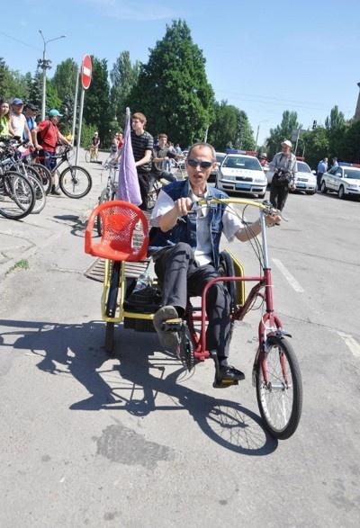 Как только не переделывают народные умельцы велосипеды