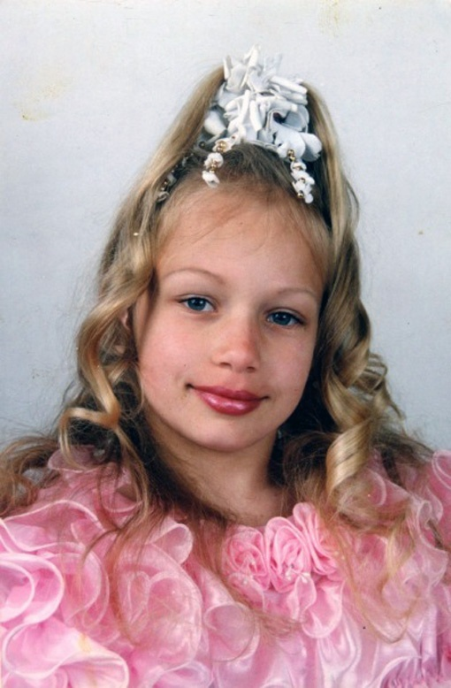 Соломко - школьница.
