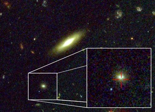Созвездие Индейца, в котором возникла гамма-вспышка.