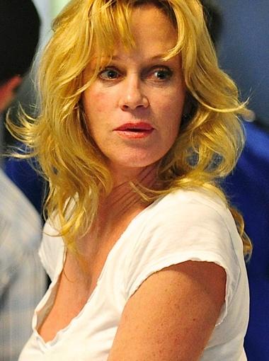 У актрисы явные проблемы с лицом... Фото All Over Press.