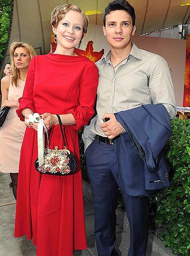 Юлия Пересильд и Александр Новин. Фото Милы Стриж.