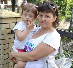 Снежана Кисишвили старается все свое время посвятить маленькой Веронике.