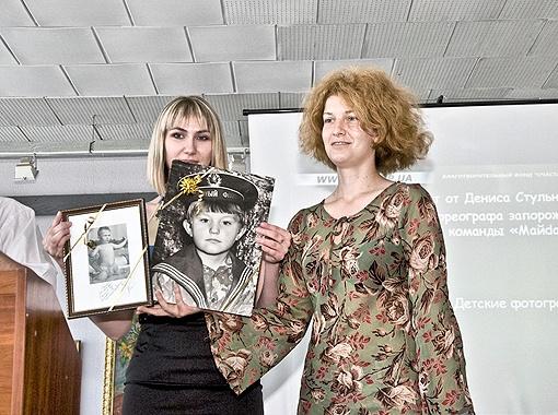 Обладательница детский фото Дениса Стульникова.