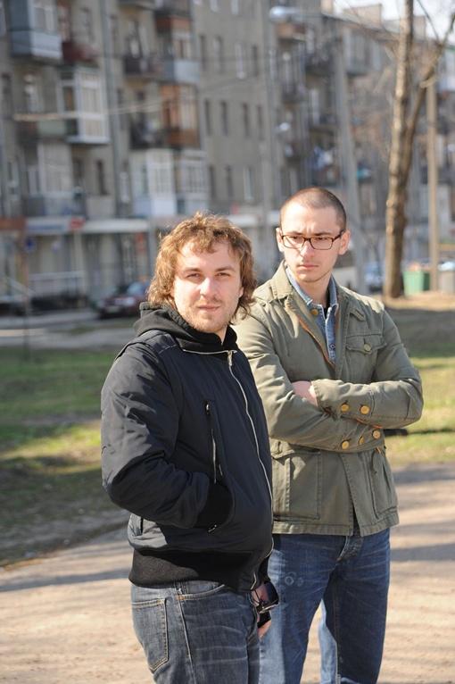 Старшие дети Кернеса — Кирилл (слева) и Даниил.