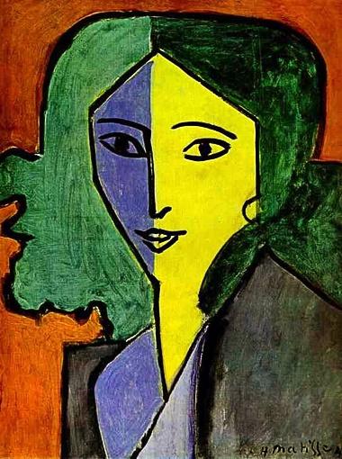 Портрет Лидии Делекторской, 1947 г.