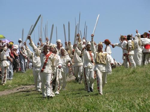 Воины Скилура возвращаются из похода.