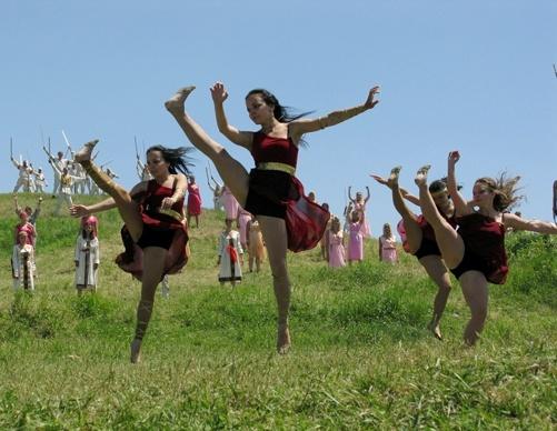 Танцевальные постановки никого не оставили равнодушным.