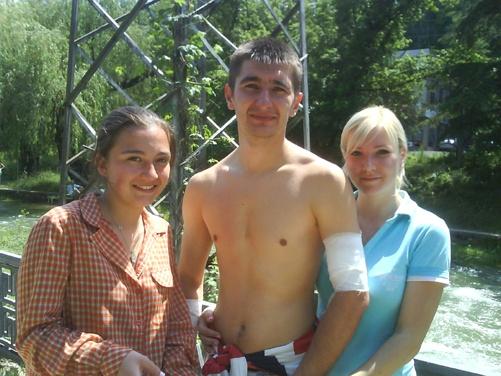 Симферополец Степан ЕФИМЕНКО спас мальчика.