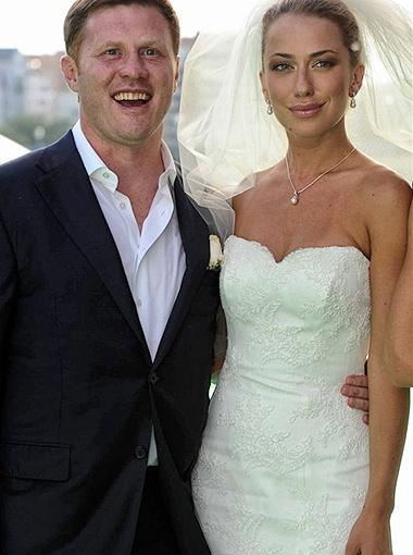 Анна Дубовицкая с мужем. Фото Милы Стриж.
