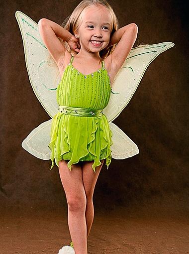 Амина Хафизова занимается в школе моделей с трех лет. Фото предоставлено студией