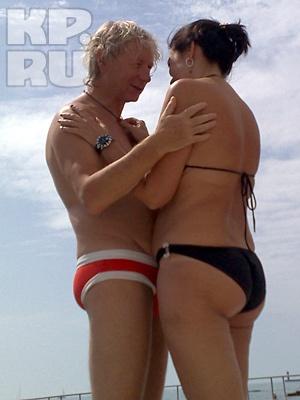Аркадий Укупник с женой Натальей. Фото: Владимир ВЕЛЕНГУРИН