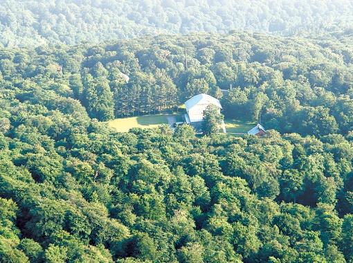 Резиденция «Дубрава-1» находится в лесной чаще заповедника.