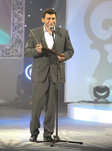 Александру Рассказову досталась награда за «Лучшую музыкально-развлекательную программу».