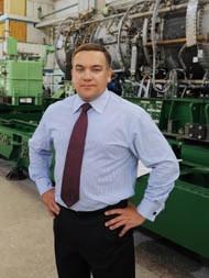 Гендиректор Андрей Хоменко рассказывает, что в 50-е на заводе создали первый двигатель.