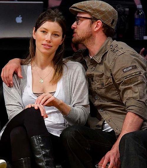 Джессика с Джастином Тимберлейком