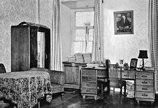 Типичный интерьер кремлевской квартиры.