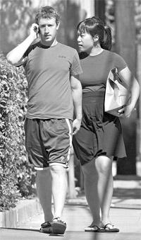 Марк и Присцилла вместе уже семь лет. Фото с сайта razval.net