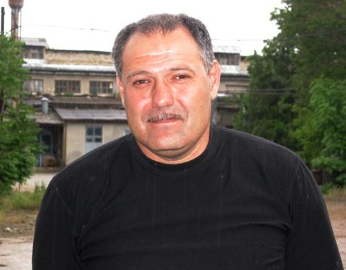 Председатель Союза кузнецов Крыма Игорь Ромашенко