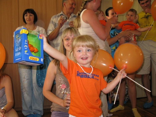 Самая взрослая участница чемпионата Виталина Сыпало покорила партнеров праздника проявленной волей к победе