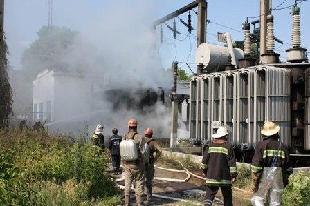 Причина пожара устанавливается. Фото: Центр пропаганды ГУ МЧС Украины в Донецкой области.