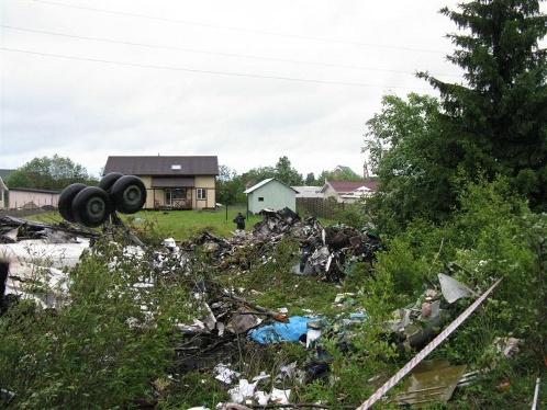 Место катастрофы. Фото: МЧС.
