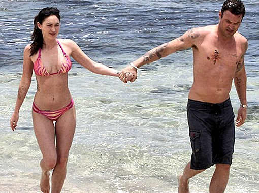 Актриса прилетела на Гавайи вместе с мужем... Фото Splash/All Over Press.