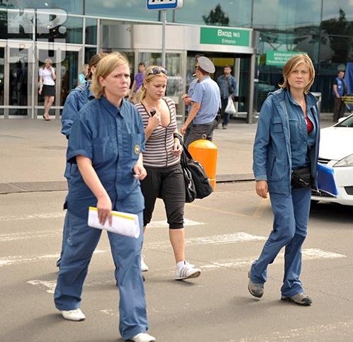 Сестра погибшей стюардессы Елены Ерофеевой Анна. Фото: Евгения ГУСЕВА