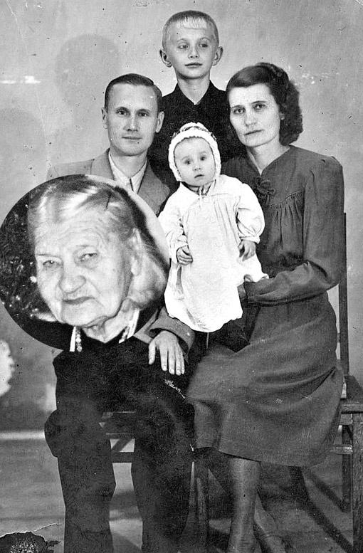 Ольга и Григорий счастливо прожили 55 лет, вырастили двоих детей.