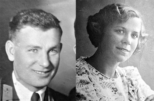 Такими были Илья и Лида в июне 1941 года. Сфотографироваться вместе они так и не успели.