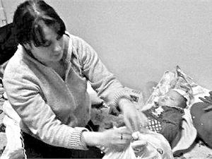 В сюжете для выступления в шоу «Україна має талант» Ксения Симонова рассказала о беде Алевтины и ее дочки. Фото с сайта Одноклассники.ру