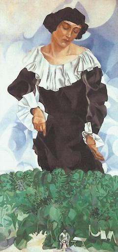 Портрет жены, «Белла», 1917.