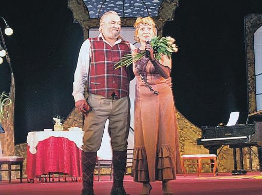 Семейственность в театре - обычное дело: Галина Мельник и Александр Кириков - супруги на сцене и в жизни.