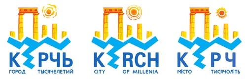 Логотип Керчи