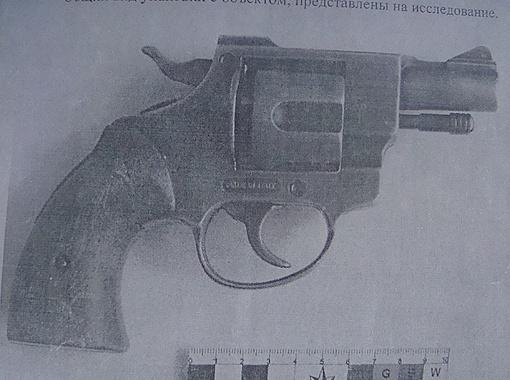 Из этого револьвера отец убитой девочки ранил своего врага.