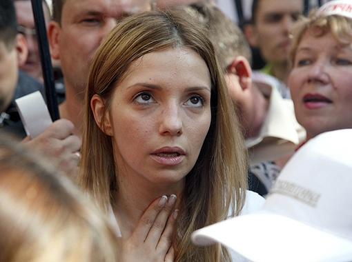 Евгения Тимошенко молилась за маму.