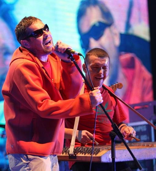 «Перкалаба» - одна из многих хороших групп, ожидаемых на фестивале «Арт-Поле». Фото Павла ДАЦКОВСКОГО
