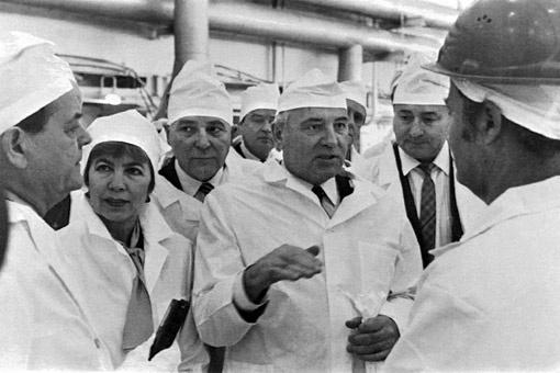 По мнению академика Пахомова, именно Михаил Горбачев увел великий народ в сторону от счастья. Фото ИТАР-ТАСС.