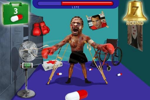 Болельщики отомстили за Кличко: создали компьютерную игру, в которой нужно полечить жалкого, изувеченного в поединке Дэвида Хэя.