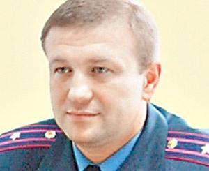 Начальник Ровенского областного отдела ГАИ Ярослав Ковальчук.