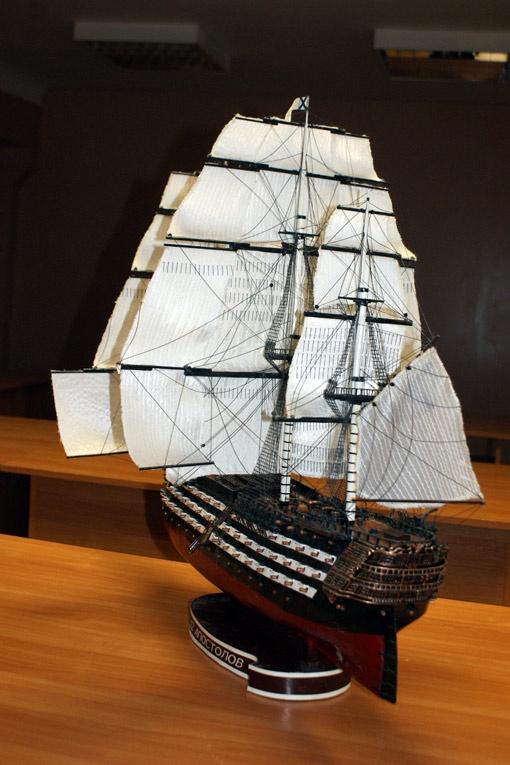 Этот корабль обойдется в 650 тысяч гривен.
